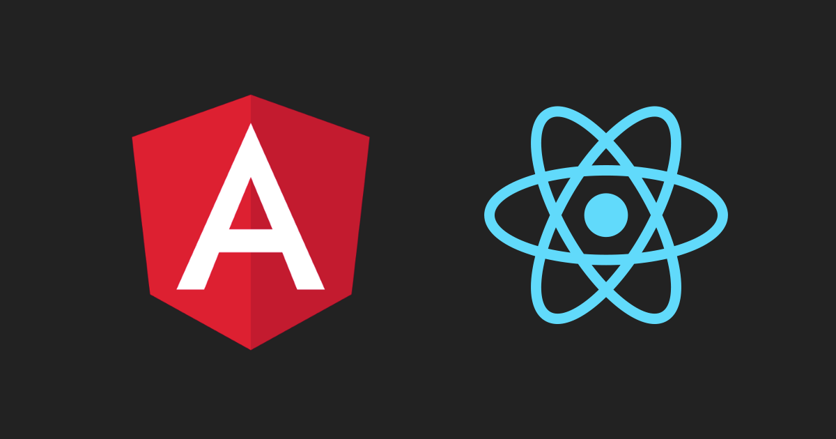 Angular and React examples